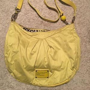 Neon Yellow Nylon Marc Jacobs Bag